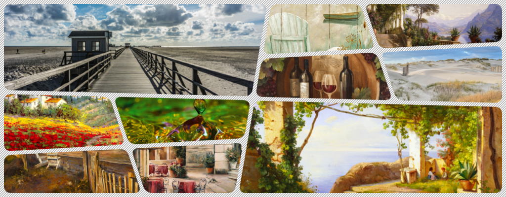 collage-landschaft